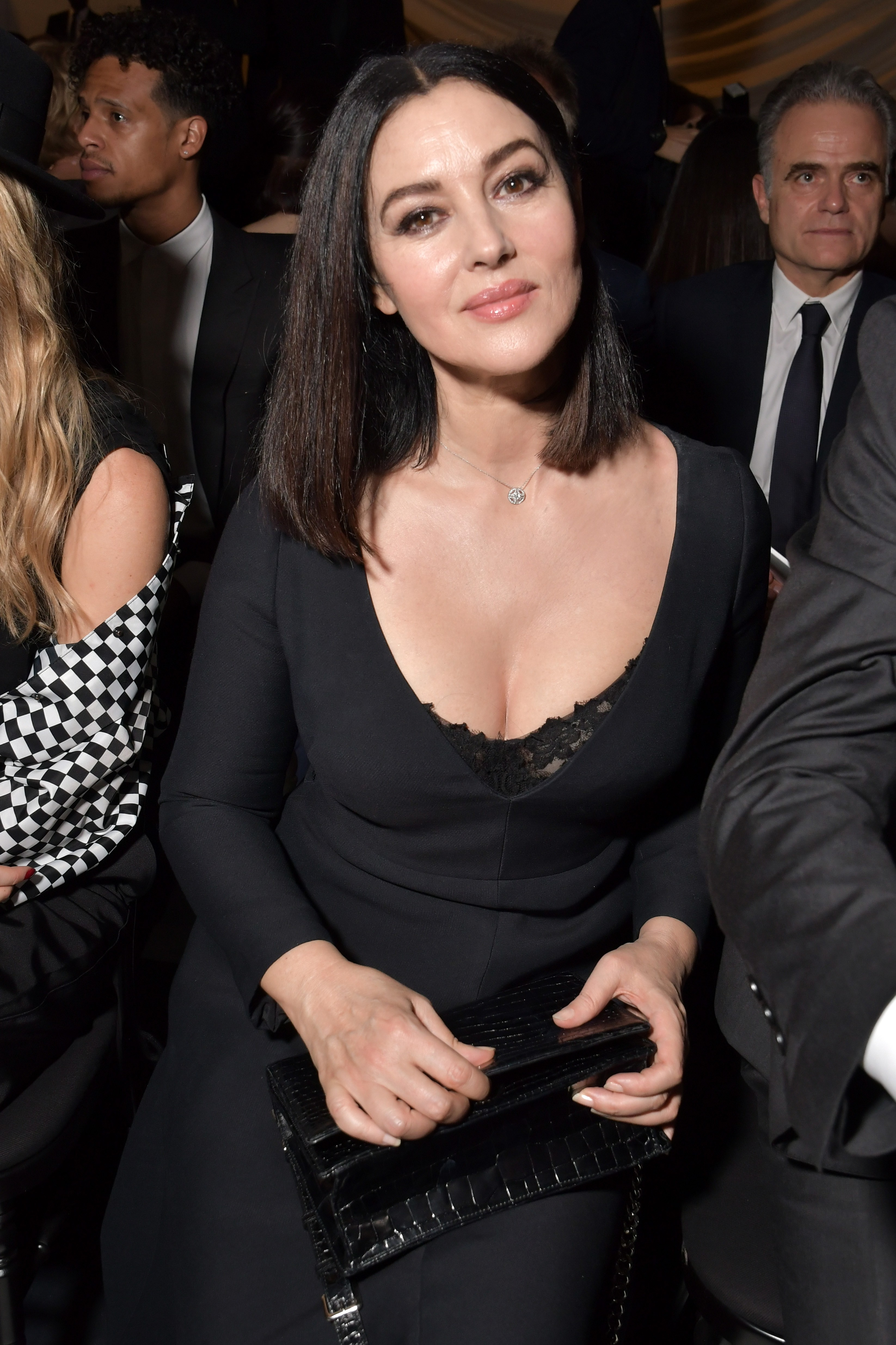 Monica Bellucci Photos At Christian Dior Show in Paris - Sexy Actress Pictures | Hot Actress Pictures - ActressSnaps.com